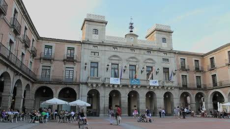 Spain-Avila-plaza-government-building
