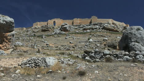 Spain-Castile-Gormaz-piled-stones-castle-9