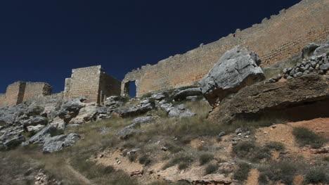 Spain-Castile-Gormaz-castle-walls-gate-evening-4