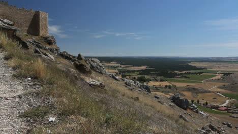 Spain-Castile-Gormaz-castle-and-valley