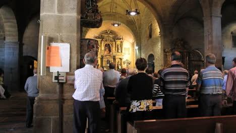 Spain-La-Alberca-church-service-3