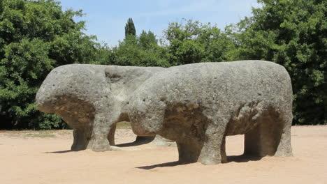 Spain-Castile-Celtiberian-stone-bulls-1