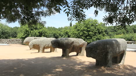 Spain-Castile-Celtiberian-stone-bulls-4