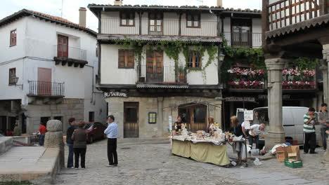 España-Mercado-La-Alberca-Plaza-Stand