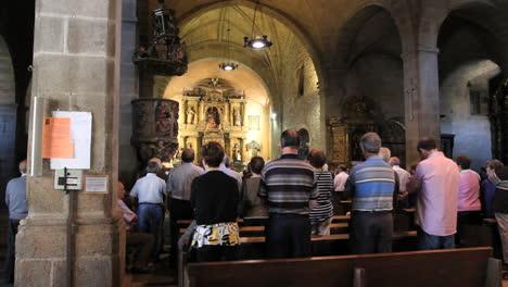 Spain-La-Alberca-church-service-5