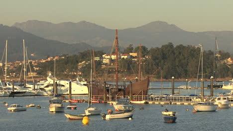 España-Galicia-Baiona-Barcos-Ia