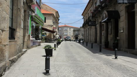 Spain-Galicia-town-cobblestone