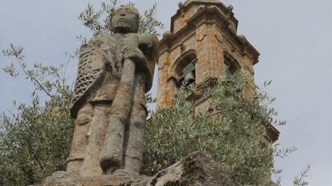 Spain-Galicia-saint-statue-2