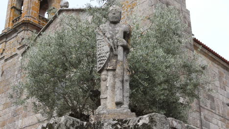 Spain-Galicia-saint-and-olive-tree-2