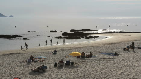 Spain-Galicia-Playa-Pregueira-beach-chairs-7