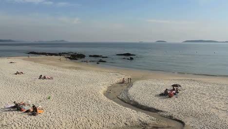 Spain-Galicia-Playa-Pregueira-creek-11a