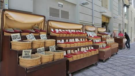 Spain-Granada-spices-for-sale