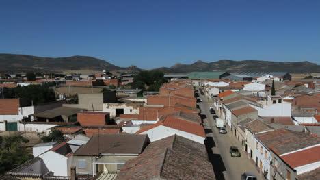 Spain-Castile-Calzada-de-Calatrava-rooftops-street-4