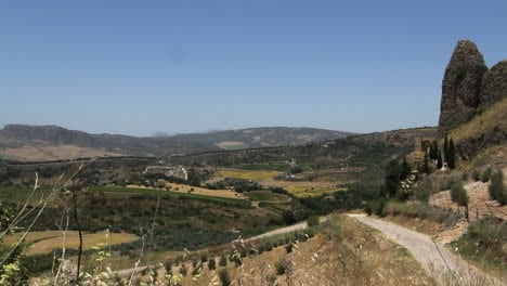 Spain-Andalucia-Ronda-road-and-landscape-2