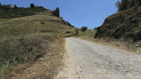 Spain-Andalucia-Ronda-Roman-road