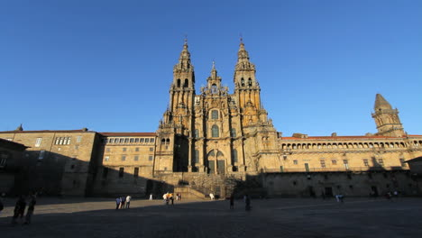 Santiago-Cathedral-view-in-afternoon