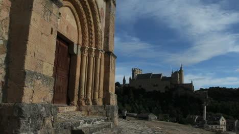 Spain-Segovia-Templar-church