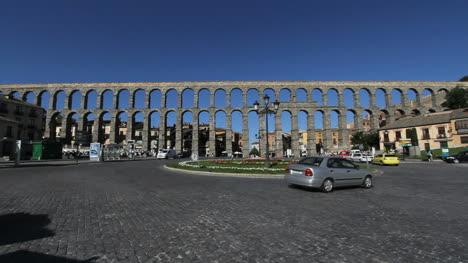 Lapso-De-Tiempo-Del-Tráfico-Del-Acueducto-De-Segovia