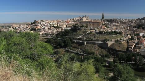 Toledo-and-Rio-Tajo-in-Spain
