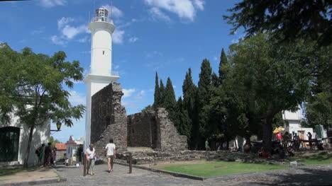 Uruguay-Colonia-Del-Sacramento-Faro-Y-Cielo