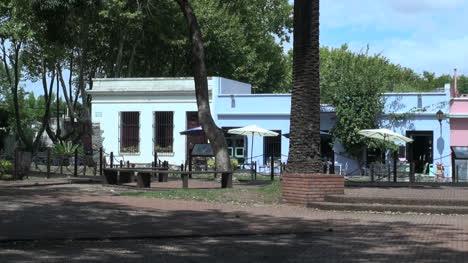 Uruguay-Colonia-Del-Sacramento-Park-And-Houses