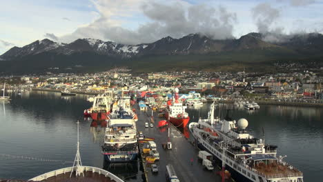 Ushuaia-Argentina-town-&-docks-s1