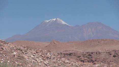 Chile-Atacama-volcano-near-Toconao