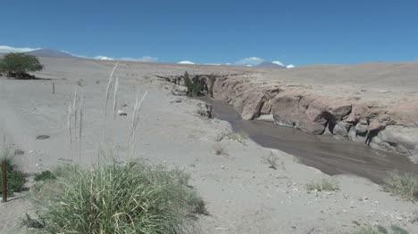 Chile-Atacama-Toconao-emerging-stream-sand-slope