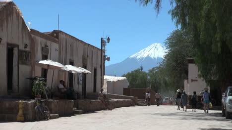 San-Pedro-de-Atacama-street-with-volcano-view