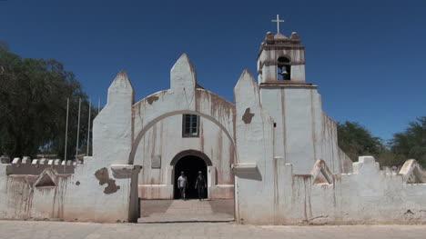 Chile-San-Pedro-de-Atacama-church-streaked-arch-entrance