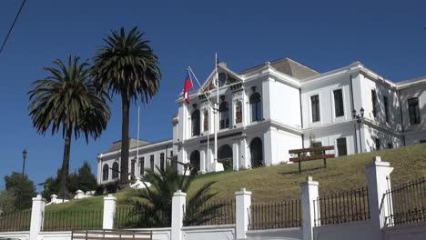 Chile-Valparaiso-Naval-museum-and-palms