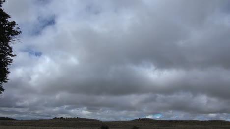 Timelapse-De-La-Nube-De-La-Patagonia