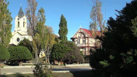 Patagonia-Puerto-Natales-church-&-house-s