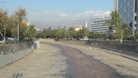 Santiago-canalized-river