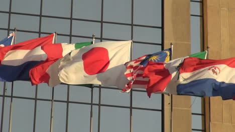 Spain-Galicia-Santiago-flags-2