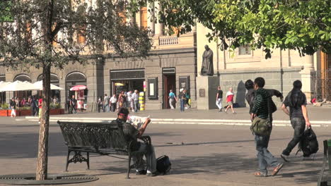 Santiago-people-on-bench-s