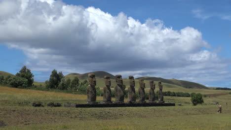 Rapa-Nui-Ahu-Akivi-&-tourist-s12a