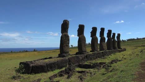 Easter-Island-Ahu-Akivi-shadow-moai-and-ocean-2b