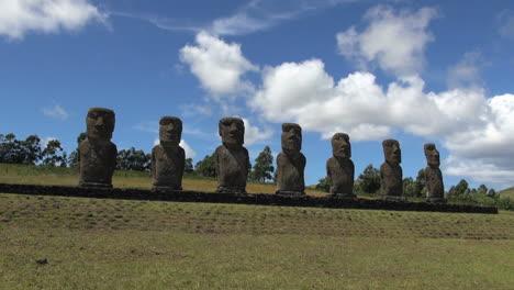 Easter-Island-Ahu-Akivi-seven-moai-clouds-pass-timelapse-16