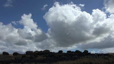 Easter-Island-Akahanga-Ahu-platform-and-clouds-1