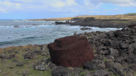 Easter-Island-Akahanga-top-hat-on-cove