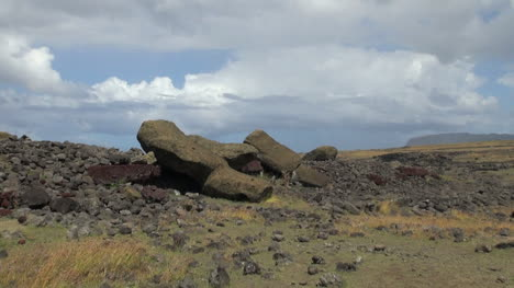 Easter-Island-Akahanga-fallen-statues-5