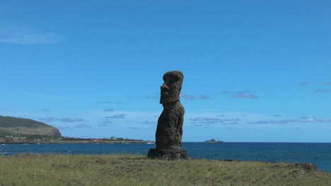 Isla-De-Pascua-Ahu-Hanga-Kio&#39-e-Zoom-In-To-Face-3