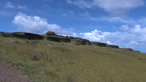 Easter-Island-Orongo-round-huts-on-hilltop-1