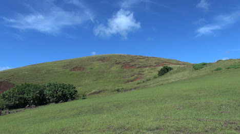 Easter-Island-Puna-Pau-red-dirt-patches-on-hill-erosion-6