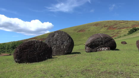 Easter-Island-Puna-Pau-unfinished-moai-material-on-slope-7