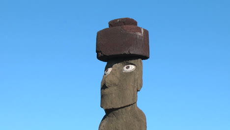 Easter-Island-Ahu-Ko-Te-Riku-moai-head-and-hat-7