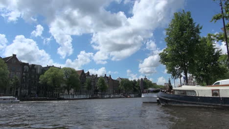 Netherlands-Amsterdam-canal-boat-view