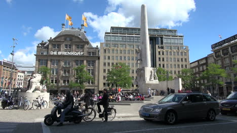 Netherlands-Amsterdam-dam-square-store-and-monument