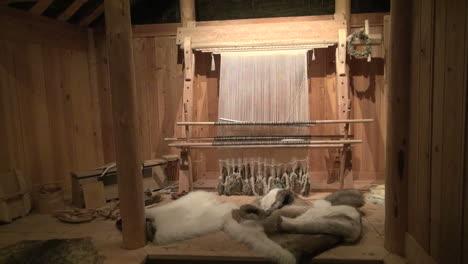 Greenland-Eric-s-longhouse-interior-2